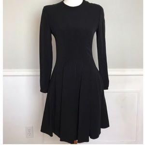 Giorgio Armani black long sleeve dress sz4